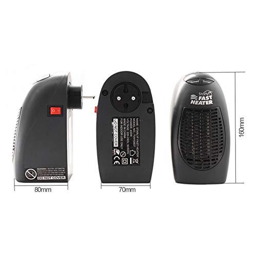 debieborahtoys Handy Heater 600W US Plug Electric Heater Mini Fan Heater Warmer Machine for Winter by debieborahtoys (Image #5)