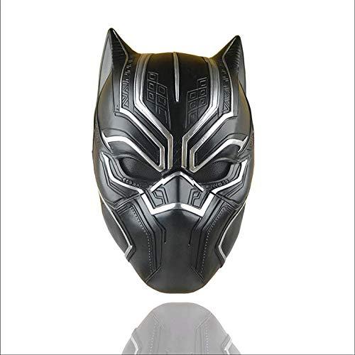 ZHOUXUELI Captain America 3 Civil War Panther Marvel Movie COS Mask Halloween Helmet -