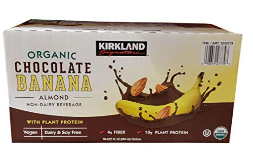 - Kirkland Signature Organic Chocolate Banana Almond