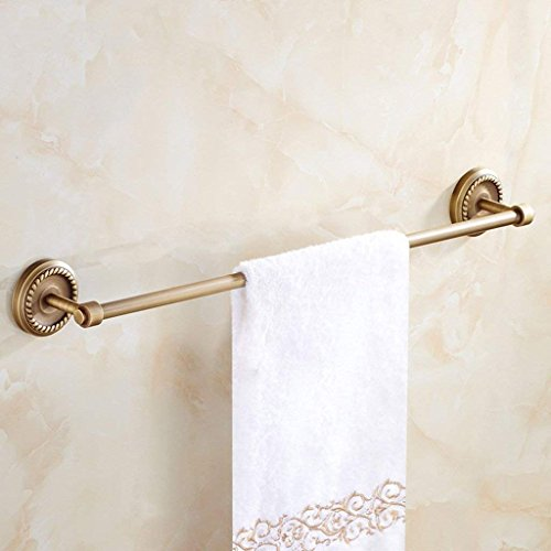 EQEQ Towel Rack, Communities of Style Single-Layer to The Wall Assemblies Ancient Copper Material Bathroom Towel Rail 630 Mm in Stainless Steel Wall Mounting best