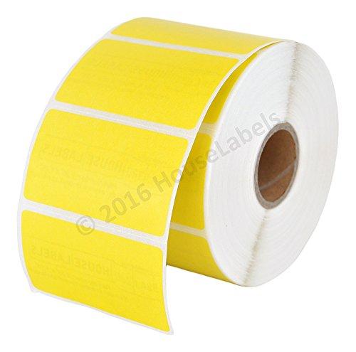 - 1 Roll; 1,000 Yellow 2.25