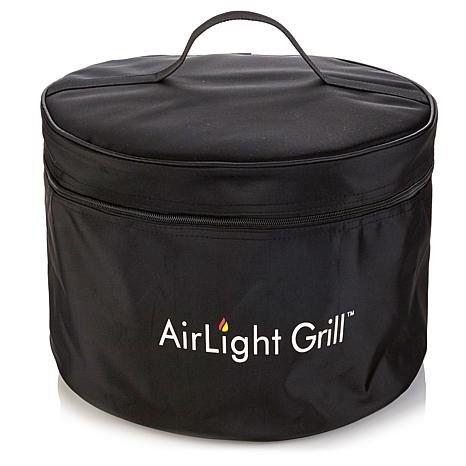 AirLight Portable Charcoal Grill and Bag - Black