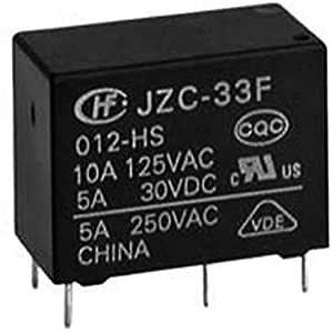 JZC-33F POWER RELAY 12V 10A