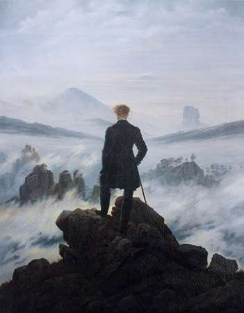 Wanderer Above the Sea of Fog Poster Print by Caspar David Friedrich (8 x 10) (Wanderer Above The Sea Of Fog Print)