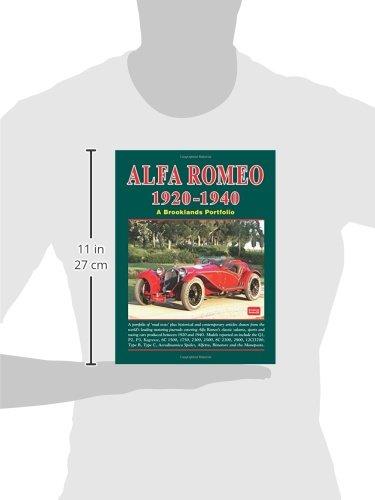 Alfa Romeo 1920-1940: a Brooklands Portfolio: Amazon.es: Clarke, R. M.: Libros en idiomas extranjeros