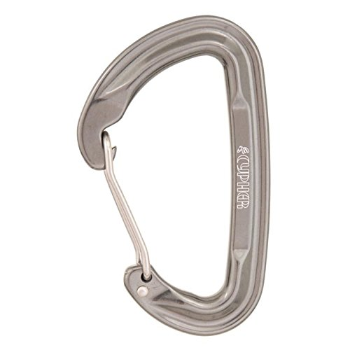 (Cypher Firefly II Wire Dark Grey Climbing Carabiner)