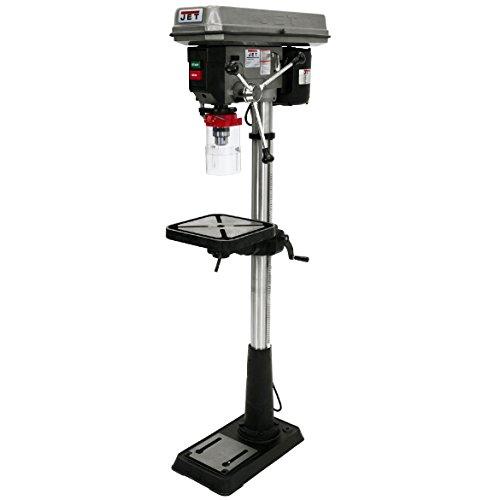 JET J-2500 15-Inch 3/4-Horsepower 115-Volt Floor Model Drill Press ()