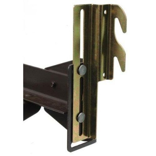 True Choice Bed Frame Bolt On To Hook On Conversion Brackets (#711) by True Choice Stores