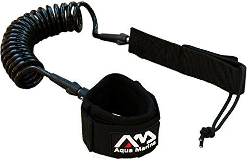 Aqua Marina Paddle Board Coil Leash 8'/7mm,