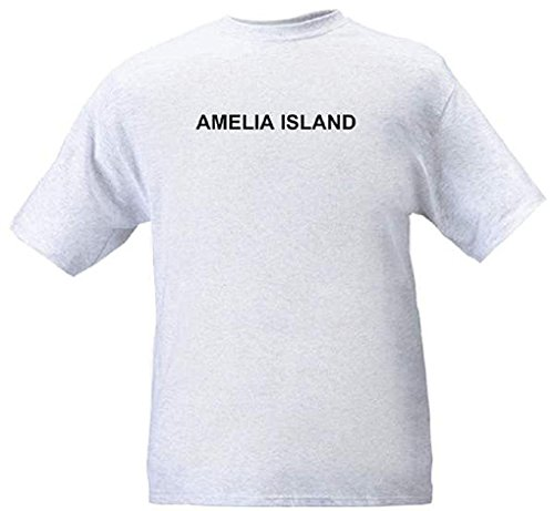 AMELIA ISLAND - City-series - Heather grey T-shirt - size -