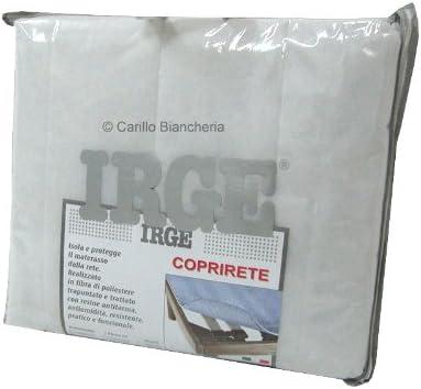 IRGE - Cubresomier acolchado con lazos para cama de matrimonio de dos plazas H218