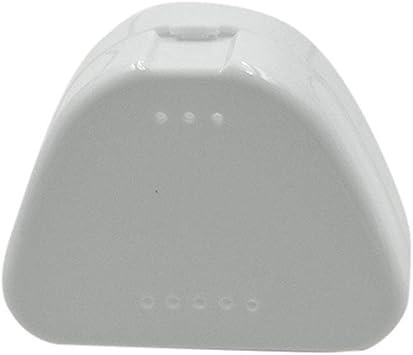 SUPVOX 4 Piezas Caja de Dentadura Estuche de Almacenamiento Dental para Protesis (Azul Blanco Rojo y Transparente): Amazon.es: Salud y cuidado personal