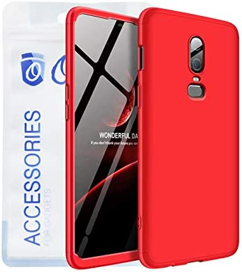 promo code 6b72b b715f Ozone OnePlus 6 GKK 360 Case Dual Embed Ultra Slim Mobile Cover With ...