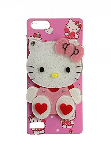 a86f43d08 Aarnik Makeup Mirror Soft Kitty with Diamond Stone Work: Amazon.in:  Electronics