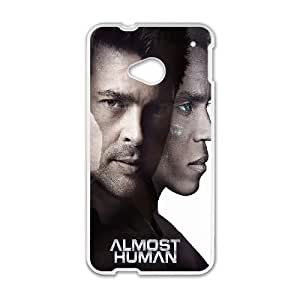 Almost Human HTC One M7 Cell Phone Case White Delicate gift AVS_650902