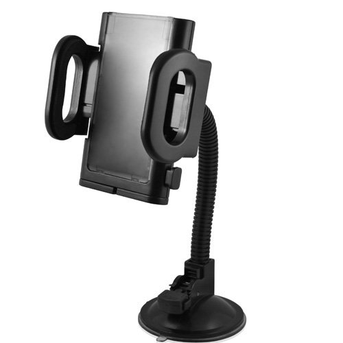 DP Audio Video Windshield Suction Mount for Portable GPS (Black)