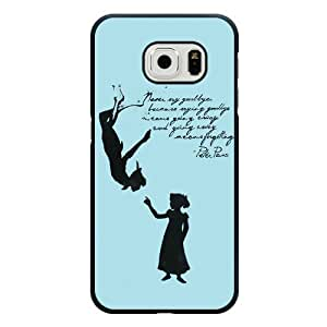 For Iphone 5C Case Cover , Diy Disney Peter Pan Never Grow Up Black Hard Shell For Iphone 5C Case Cover , Peter Pan For Iphone 5C Case Cover