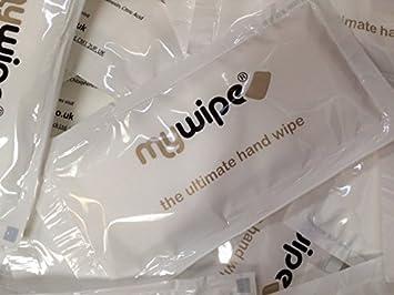 MYWIPE Ultimate grande ventilar refrescante limón caliente o frío mano toallitas húmedas toallas de Catering y restaurante - Funda húmeda de 500: Amazon.es: ...