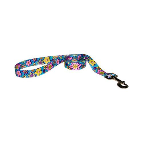 Yellow Dog Design Lead, 3/8-Inch by 60-Inch, Flower Power