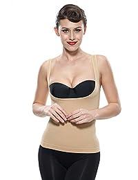 Franato Women's Shapewear Wear Your Own Bra Torsette Tank Top Vest