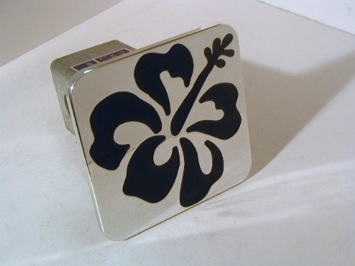 Hibiscus Flower Hawaii Hitch Cover - 2
