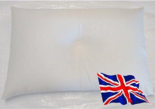 * * * Orgánica de Trigo sarraceno Almohada tamaño estándar British Made 69cm x 43cm Triple Limpiar Casco