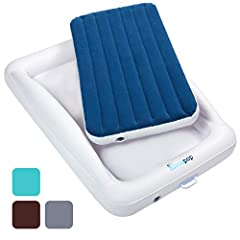Vacation? Family camping trip? Transitioning out of the crib? Going to grandma's house? Friday night sleepover?The Original hiccapop Inflatable Toddler Travel Bed is the ideal solution for a variety of purposes.We get it. Finding a practical ...