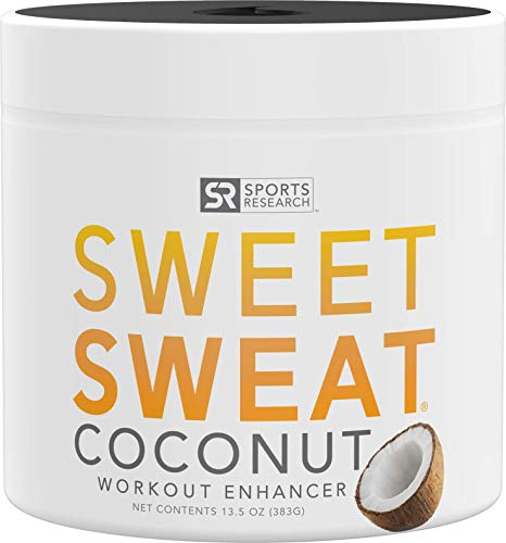 Sweet Sweat Jar - Sweet Sweat Coconut 'Workout Enhancer' Gel - 'XL' Jar (13.5oz)