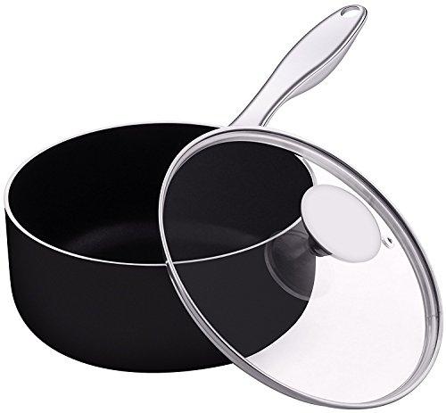 Utopia Kitchen Saucepan - 2 Quarts - 18/10 Stainless Steel H