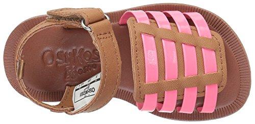 Brown Coral Lattie B'Gosh Girl's OshKosh Sandal 8X0OqxI