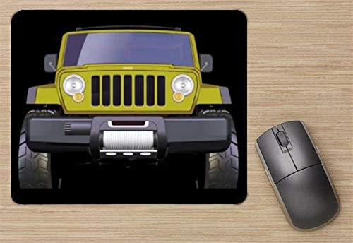 (Jeep Rescue Concept 2004 Mouse Pad, Printed Mousepad)