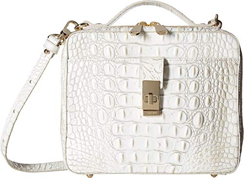 Brahmin Women's Melbourne Evie Satchel Pearl One Size from Brahmin