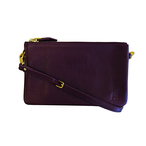 HButler 4000mAh Mighty Purse Trio Bag for Apple/Android Phones - Bordeaux by HButler