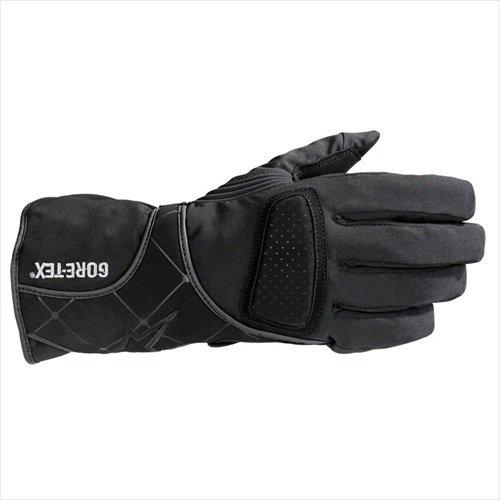 Alpinestars Stella WR-V Gore-Tex Womens Gloves , Size: Sm, Gender: Womens, Distinct Name: Black, Primary Color: Black, Apparel Material: Textile 3534511-10-S