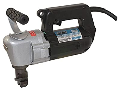 "Kett Tool AN3500 HN2 10 Gauge Nibbler, 110V, 1.25 hp, 6 Amp Electric Motor, Cuts 90""/ Minute and 6"" Radius"