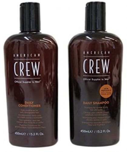 American Crew Daily Moisturizing Shampoo - AMERICAN CREW Daily Shampoo and Conditioner, 15.2 fl. oz.