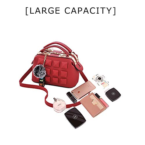para Red Red hombro Bolso Rojo mujer al JACVAAP JVPS2032 H HwqtXxzH