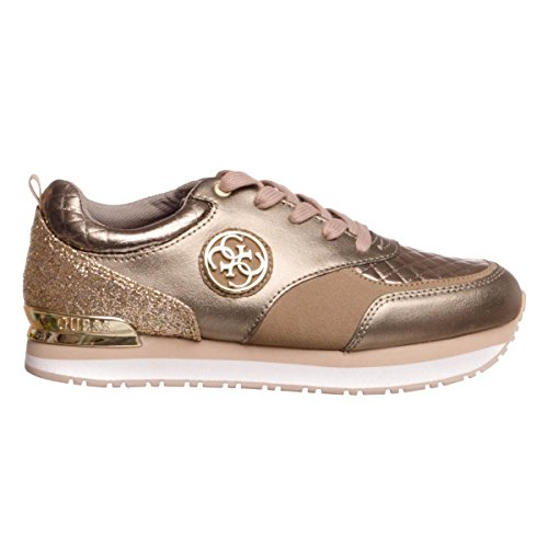 sneaker Guess leather Gold RIMMA golden wgHrg