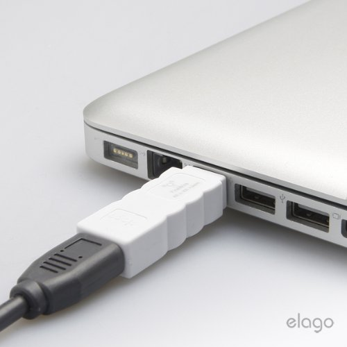 elago FireWire 400 to 800 Adapter (White) for Mac Pro, MacBook Pro ...
