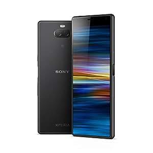 """Sony Xperia 10 - Smartphone de 6"""" Full HD+ 21:9 CinemaWide (Octa-Core de 2,2 Ghz, 3 GB de RAM, 64 GB de memoria interna, cámara dual de 13+5 MP, Android P Dual Sim), Color Negro [Versión española]"""
