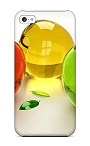 Hot 5711576K87929086 Iphone High Quality Tpu Case/ Glass Apples Case Cover For Iphone 5c