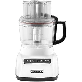 Amazon Com Kitchenaid Kfp740wh 9 Cup Food Processor