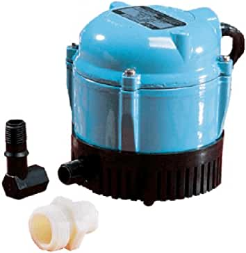 amazon com little giant water pumps parts accessories little giant 500500 1 aa 18 submersible cover pump 18 feet cord 170 gph