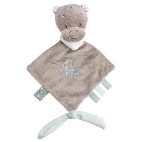 Nattou Mini doudou Hipopótamo Hipólito con accesorio para el ...