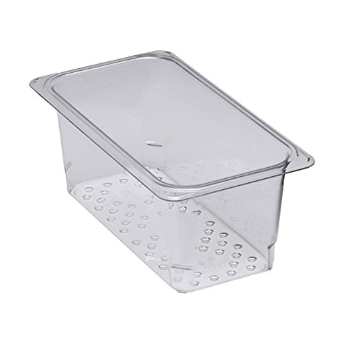 Cambro Clear Camwear Colander for 1/3 Size Food ()