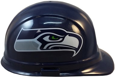 Texas American Safety Company NFL Seattle Seahawks Hard Hats with Ratchet Suspension 2
