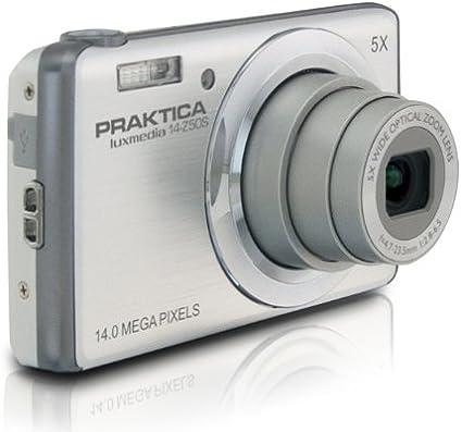 Praktica 14 Z50s Luxmedia Digitalkamera 3 Zoll Silber Kamera