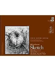 "Strathmore 455-18 STR-455-18 30 Sheet Sketch Pad, 18 by 24"", 18""x24"""