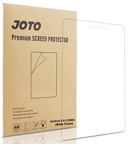 JOTO ASUS ZenPad S 8.0 Z580C Screen Protector Film Anti Glare, Anti Fingerprint (Matte Finish) Screen Guard for ASUS ZenPad S 8.0 (2015 ASUS ZenPad Z580C, Z580CA), (3 Pack)
