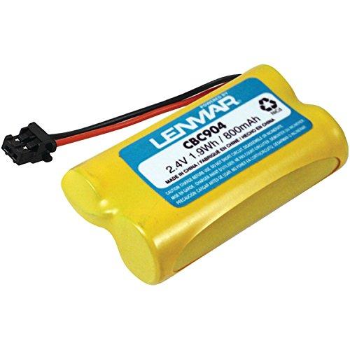 Lemnar CBC904 Battery for Uniden Cordless Phones (Lenmar Cbc904 Cordless Phone Battery)